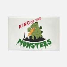 King of the Monsters Magnets