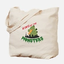 King of the Monsters Tote Bag