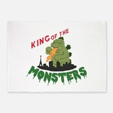 King of the Monsters 5'x7'Area Rug