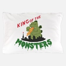 King of the Monsters Pillow Case
