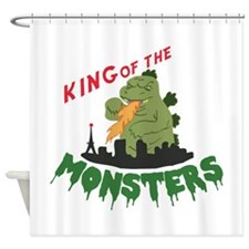 King of the Monsters Shower Curtain