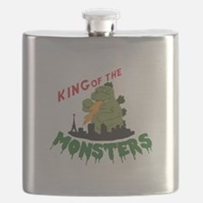 King of the Monsters Flask