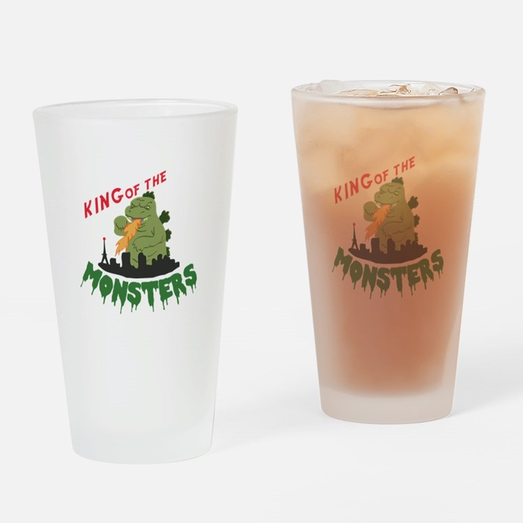 King of the Monsters Drinking Glass