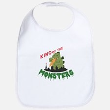 King of the Monsters Bib