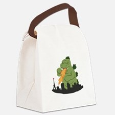 Fire Breather Canvas Lunch Bag