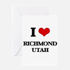I love Richmond Utah Greeting Cards
