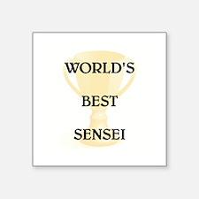"""SENSEI Square Sticker 3"""" x 3"""""""