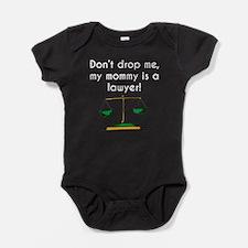 My Mommy Is A Lawyer Baby Bodysuit