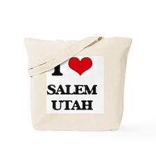 I love Salem Utah Tote Bag