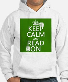 Keep Calm and Read On Jumper Hoody