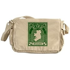 Slainte Irish Stamp Messenger Bag