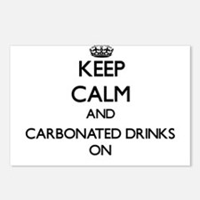 Keep Calm and Carbonated Postcards (Package of 8)