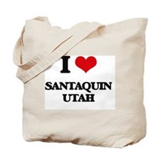 I love Santaquin Utah Tote Bag