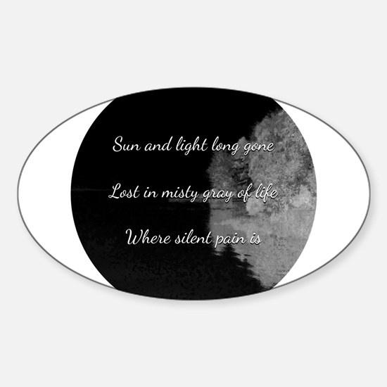 Sun and light long gone Decal
