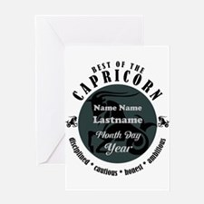 Custom Text Capricorn Horoscope Zodiac Sign Greeti