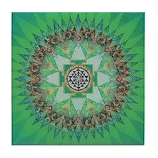 Sri Yantra Tile