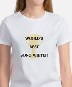 SONG WRITER Women's T-Shirt