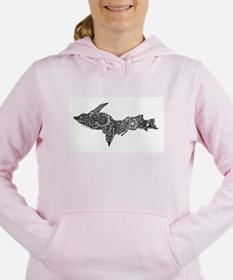 Mehndi Upper Peninsula U Women's Hooded Sweatshirt