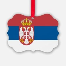Serbian flag Ornament