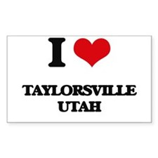 I love Taylorsville Utah Decal
