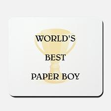 PAPER BOY Mousepad