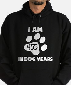 65th Birthday Dog Years Hoodie
