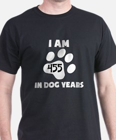 65th Birthday Dog Years T-Shirt