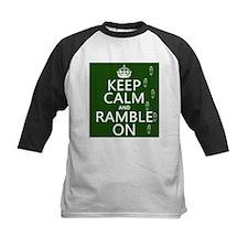 Keep Calm and Ramble On Baseball Jersey