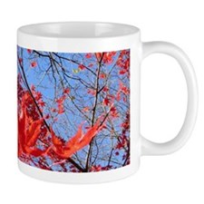 Red Leaves Mug