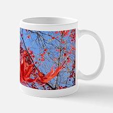Red Leaves Mug