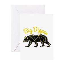 Big Dipper Greeting Cards