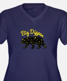 Big Dipper Plus Size T-Shirt
