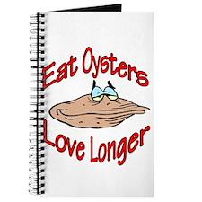Eat Oysters Love Longer Journal