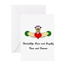Cute Love%2c loyalty and friendship Greeting Card