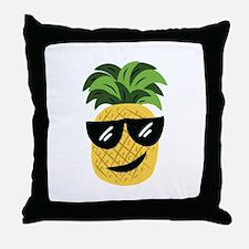 Funky Pineapple Throw Pillow