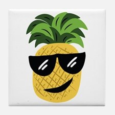 Funky Pineapple Tile Coaster