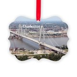 Charleston 2c sc christmas Picture Frame Ornaments
