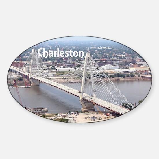 Charleston Sticker (Oval)