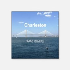 "Charleston Square Sticker 3"" x 3"""