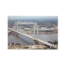 Charleston Rectangle Magnet