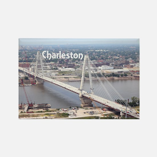Charleston Rectangle Magnet