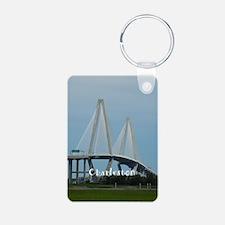 Charleston Aluminum Photo Keychain
