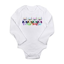Cute World of outlaws Long Sleeve Infant Bodysuit