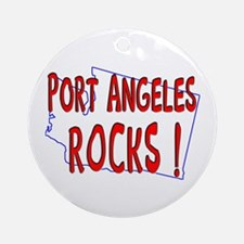 Port Angeles Rocks ! Ornament (Round)