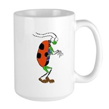Funny Cartoon Bug Mug