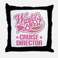 cruise director Throw Pillow