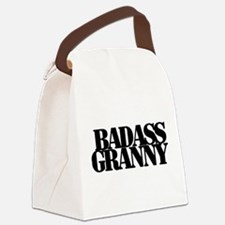 Badass Granny Canvas Lunch Bag
