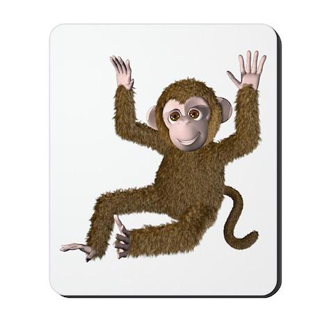 Monkey! Monkey! Mousepad