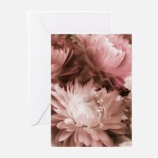 Antique Strawflowers Greeting Cards (Pk of 10)