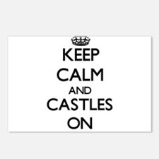 Keep Calm and Castles ON Postcards (Package of 8)